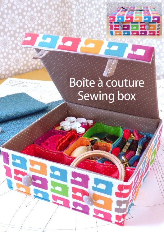 kit de couture, kit à coudre, sewing kit, couture, sewing, prêt à coudre, ready to sew, patron, pattern, boîte, box